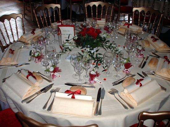 Tables dressées