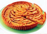 Tarte aux pommes entiere