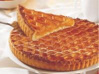 Tarte grillee abricot